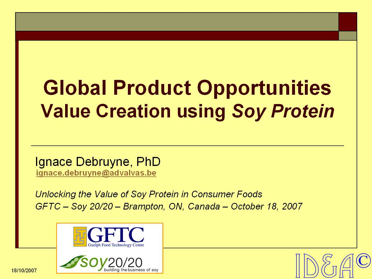 Soy Protein Market Opportunities